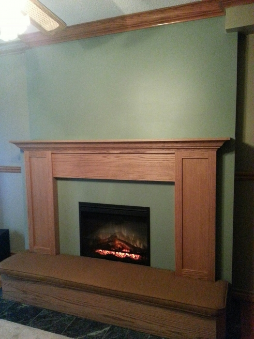 Fireplace design renovation ideas toronto stylish - Ideas to cover fireplace opening ...