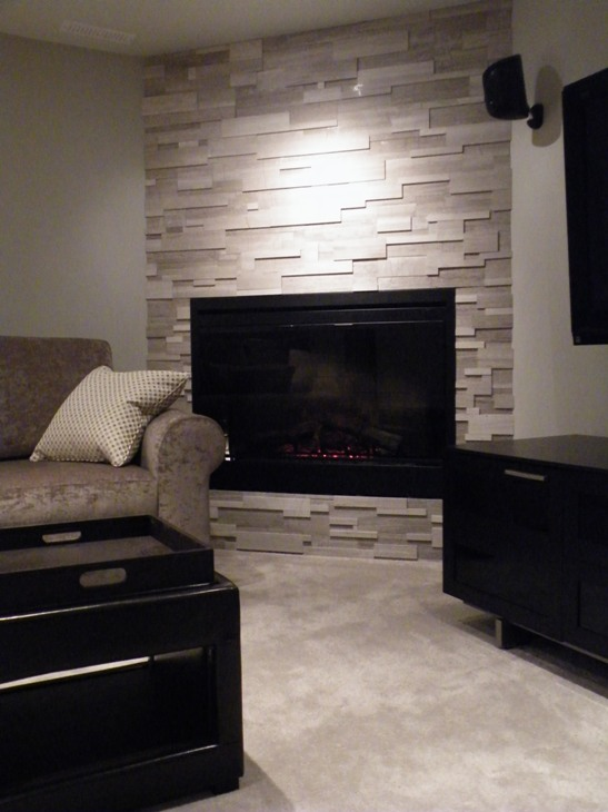 Fireplace Ideas On Pinterest Corner Fireplaces Stone