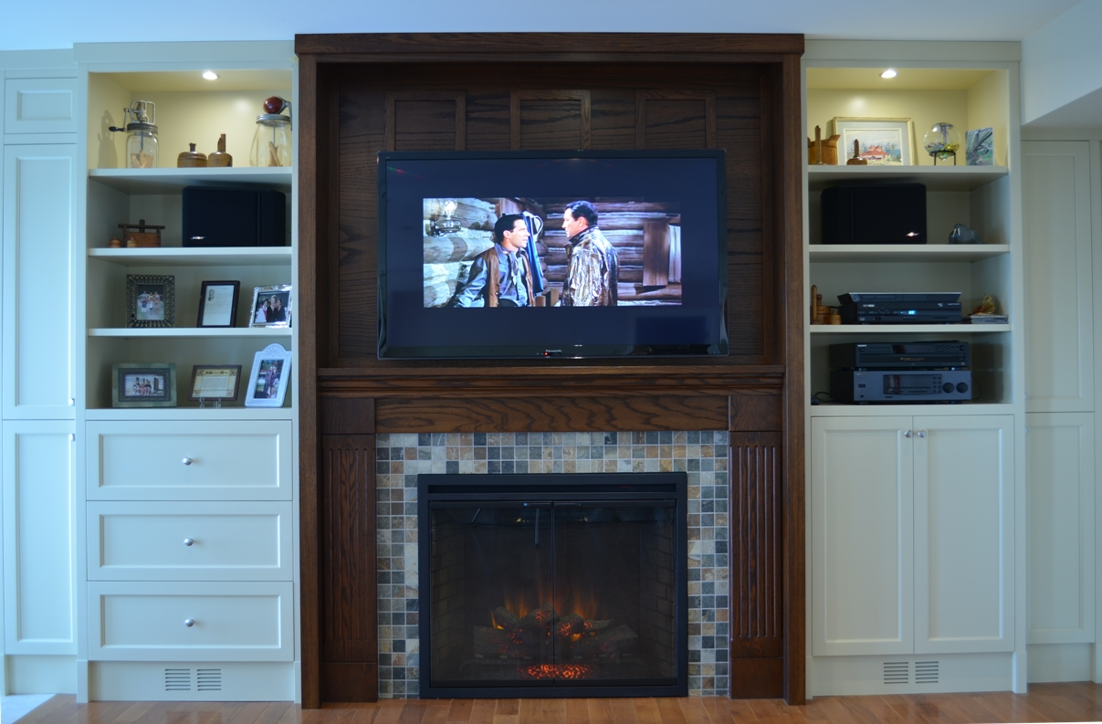 Fireplace Tv Wall Unit Car Tuning