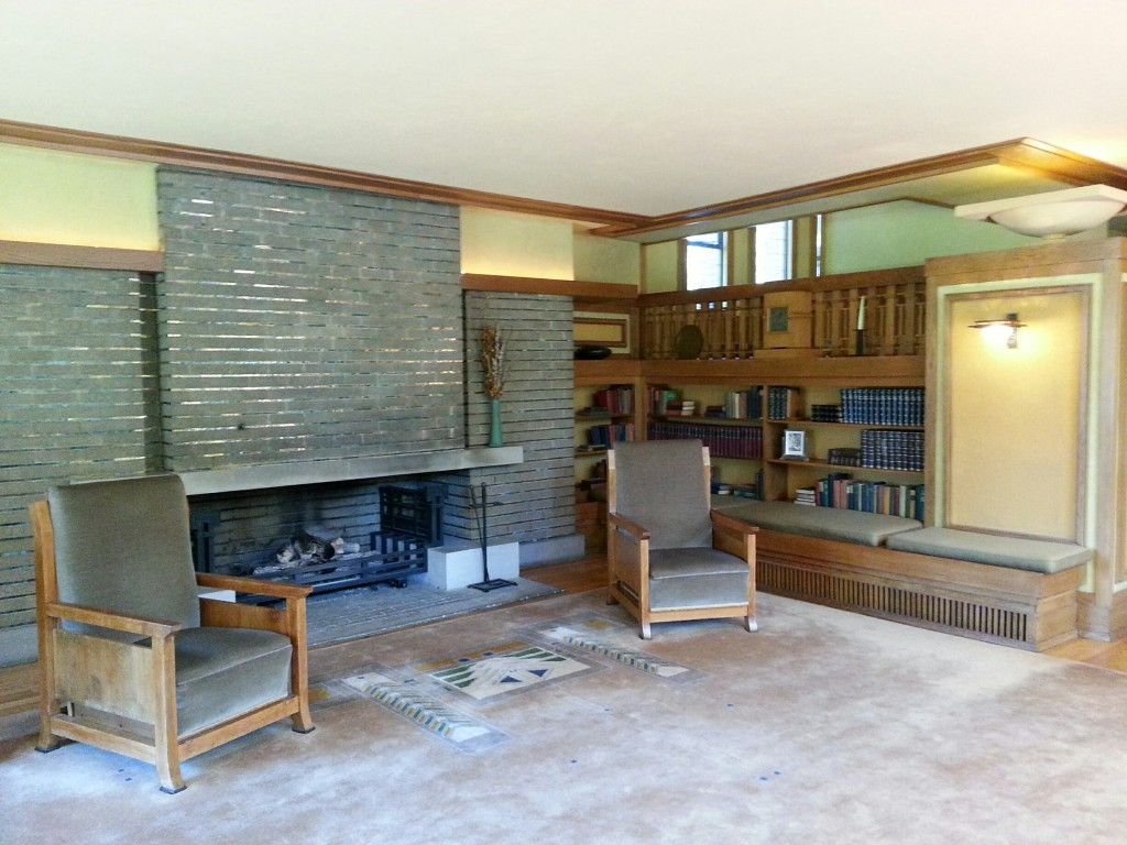 Living Room at the Meyer May House