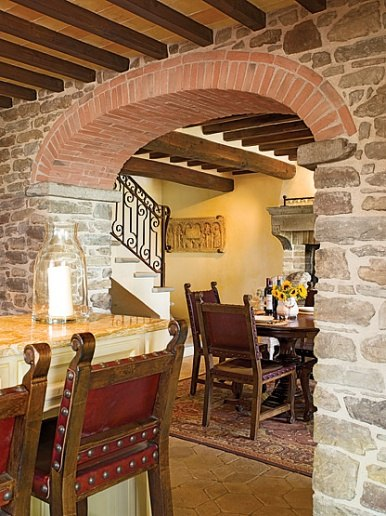 stone & brick - tuscan farmhouse