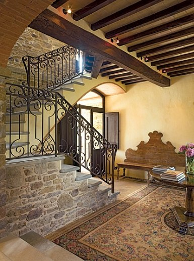 stone - tuscan farmhouse