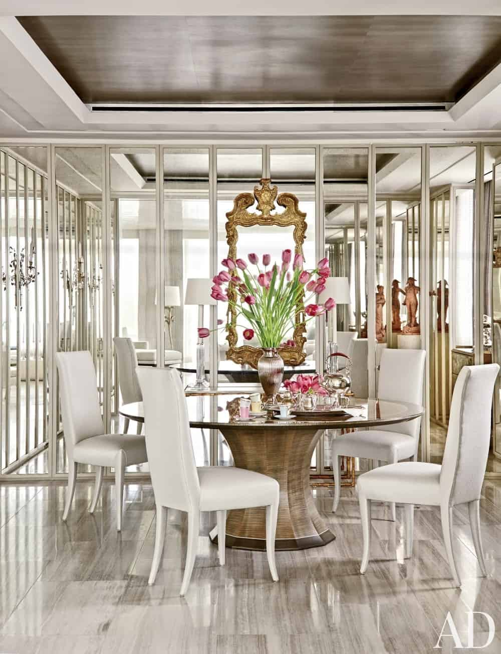 Architectural digest dining rooms