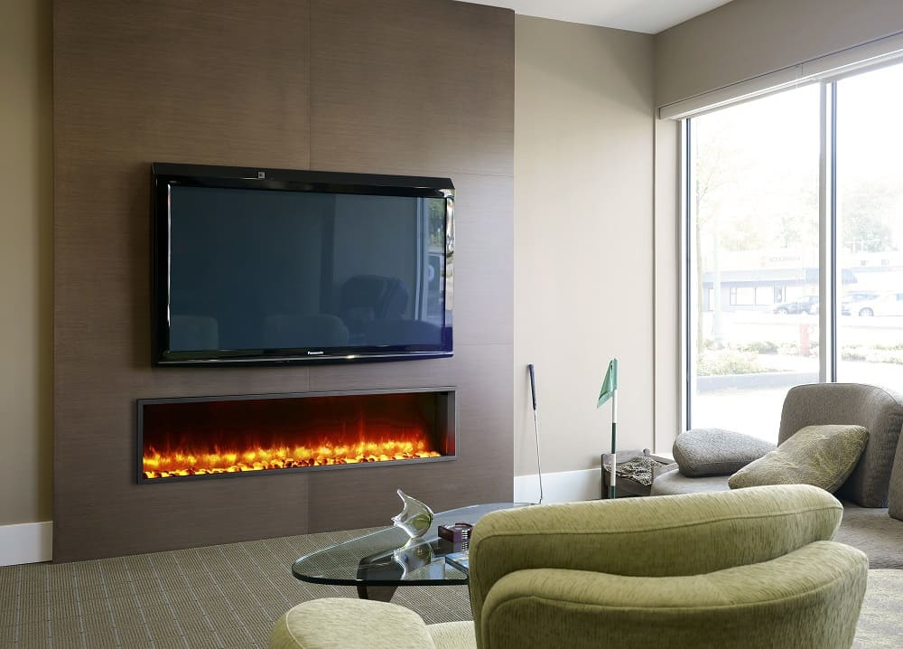 Fireplace Design wall fireplaces : The Ins and Outs of Wall-mounted Fireplaces: 5 Things to Consider ...