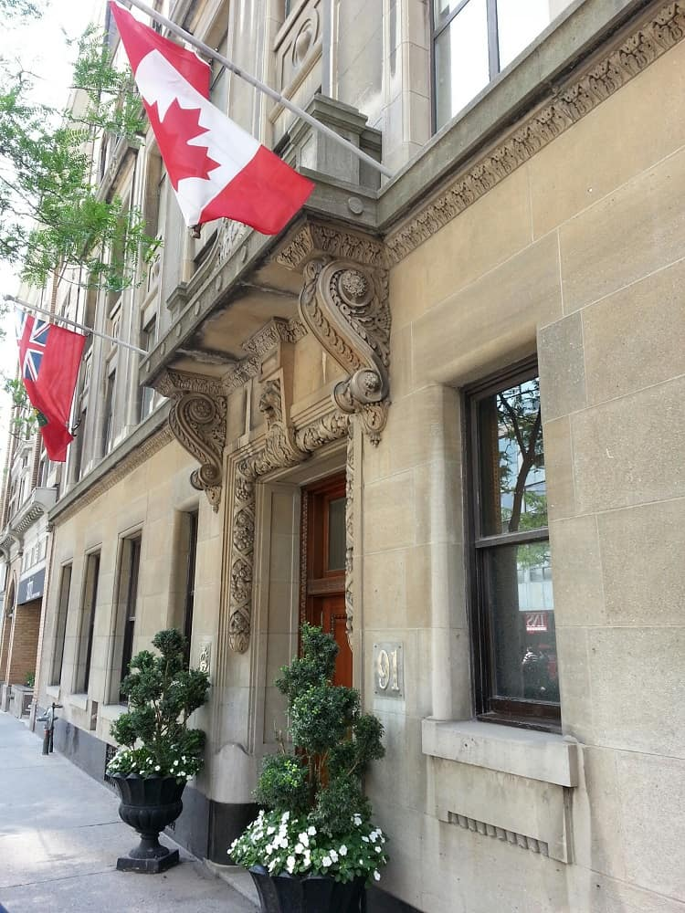 toronto-private club entrance