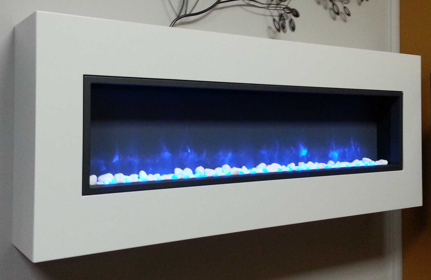 wall-mounted frame with BT55