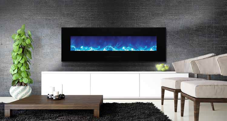 WallMounted Fireplaces Find the Best one for you Stylish