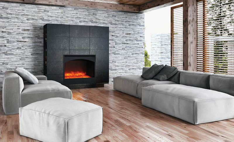 Are electric fireplaces safe compared to gas fireplaces