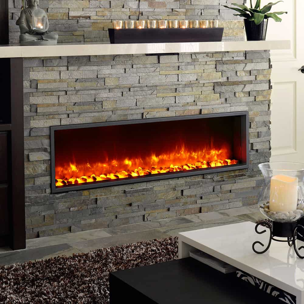 Linear fireplaces are ideal for all types of homes and even commercial establishments. We ship across Canada visit our Toronto showroom.