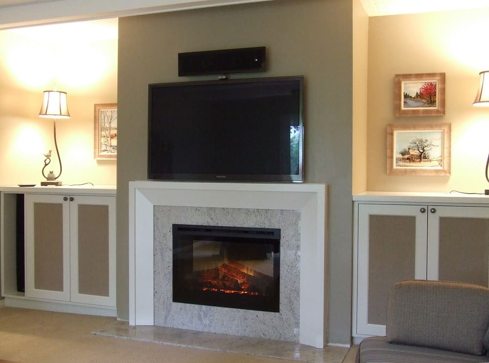 How to convert a wood-burning fireplace to electric