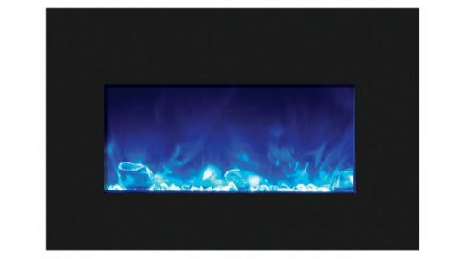 Amantii INS-30-4026-BG-ICE electric fireplace