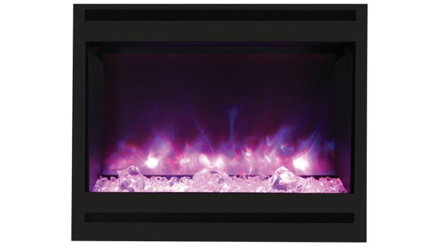Amantii ZECL-31-3228-STL-SQR-ICE fireplace insert