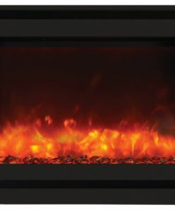Amantii ZECL-31-3228-STL-SQR-EMBER electric fireplace