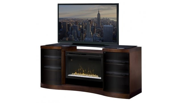 kitchen cabinets inserts dimplex acton walnut media console with pf3033hg firebox 3033