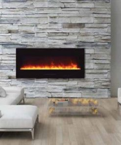 Amantii WM-FM-50-BG-EMBER electric fireplace