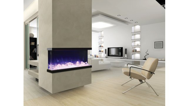 Amantii 50-Tru-View-XL 3-sided electric fireplace
