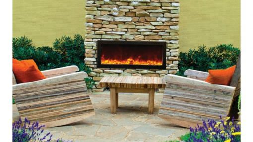 Amantii BI-40-DEEP panoramic fireplace