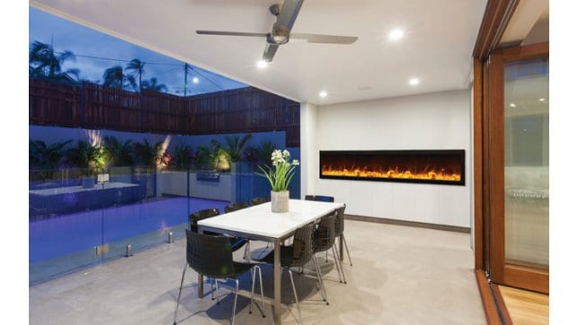 Amantii BI-88-DEEP panoramic fireplace