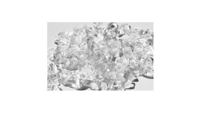 "Crushed Ice 1/2"" and 1/4"" fire glass"