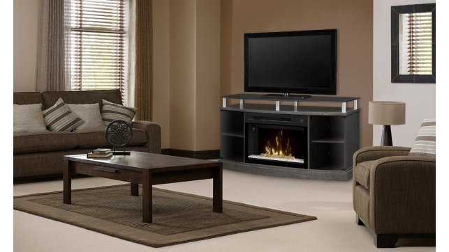 Dimplex Windham Silver Charcoal GDS25G-1015SC