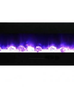 AMantii WM-FM-72-8123-BG-ICE electric fireplace