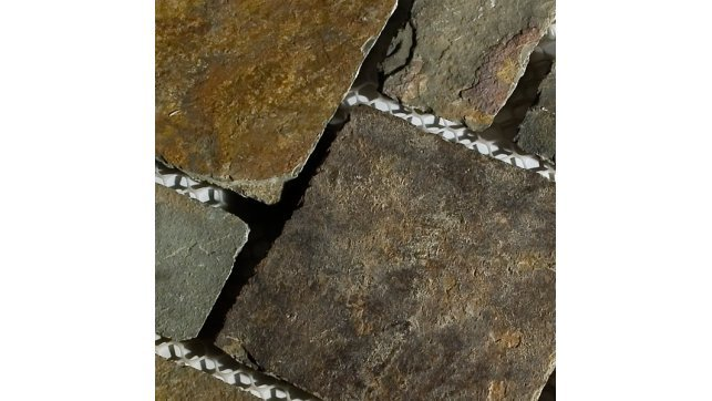 Erthcoverings Outback Brown Interlocking Pave Mats stone tile ILPM-24