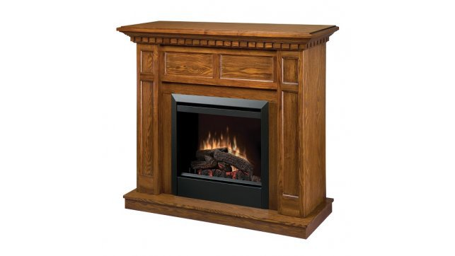 Dimplex Caprice Oak electric fireplace