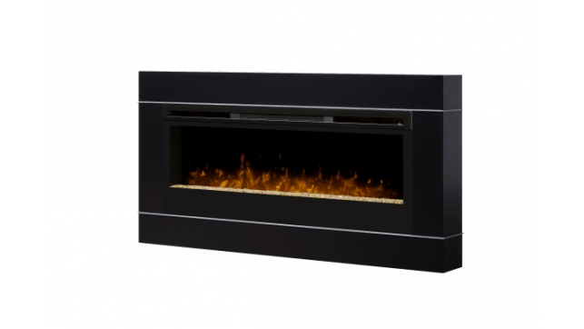Dimplex Cohesion Black with BLF50 electric fireplace
