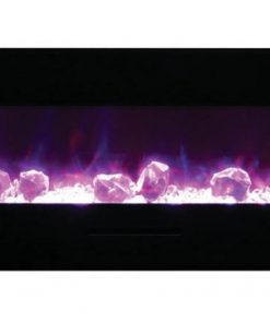 Amantii WM-FM-48-5823-BG-ICE electric fireplace
