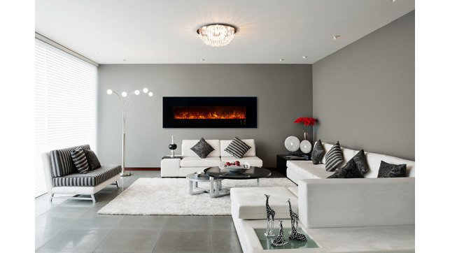 Modern Flames CLX2-80 linear fireplace
