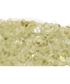 Crushed Reflective Gold fire glass