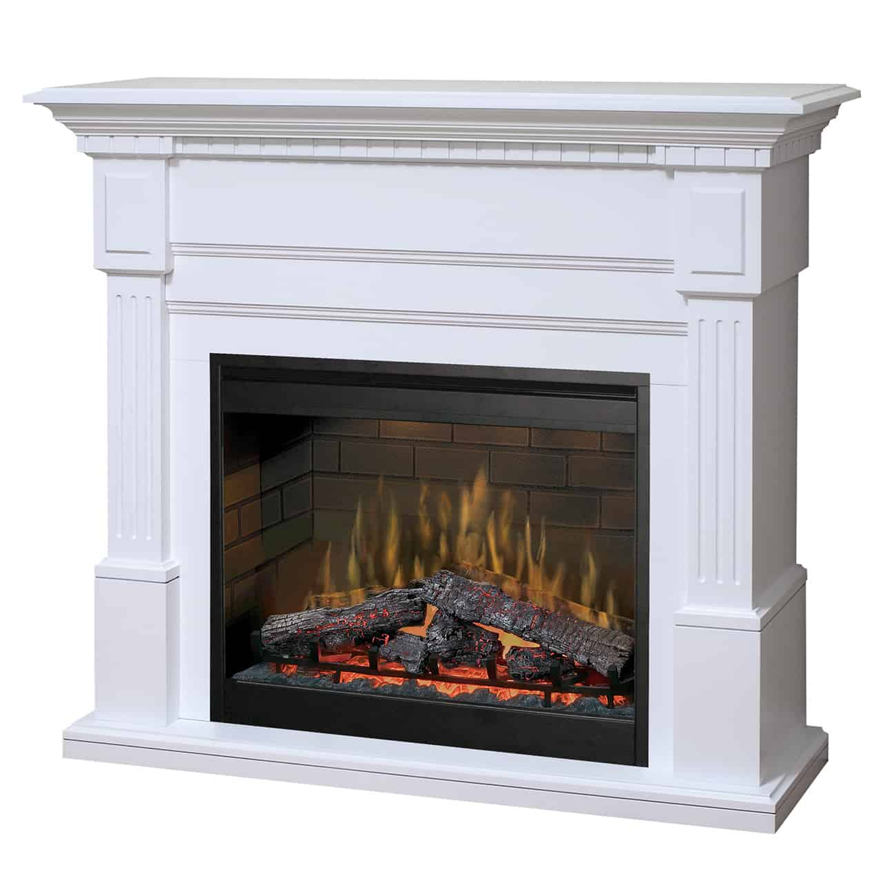 Brilliant Dimplex Essex White Mantel Package With Df3015 Firebox Wiring Cloud Toolfoxcilixyz