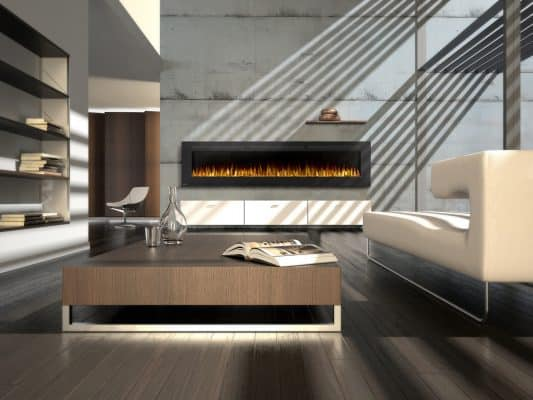 Napoleon Allure 100 inch electric fireplace