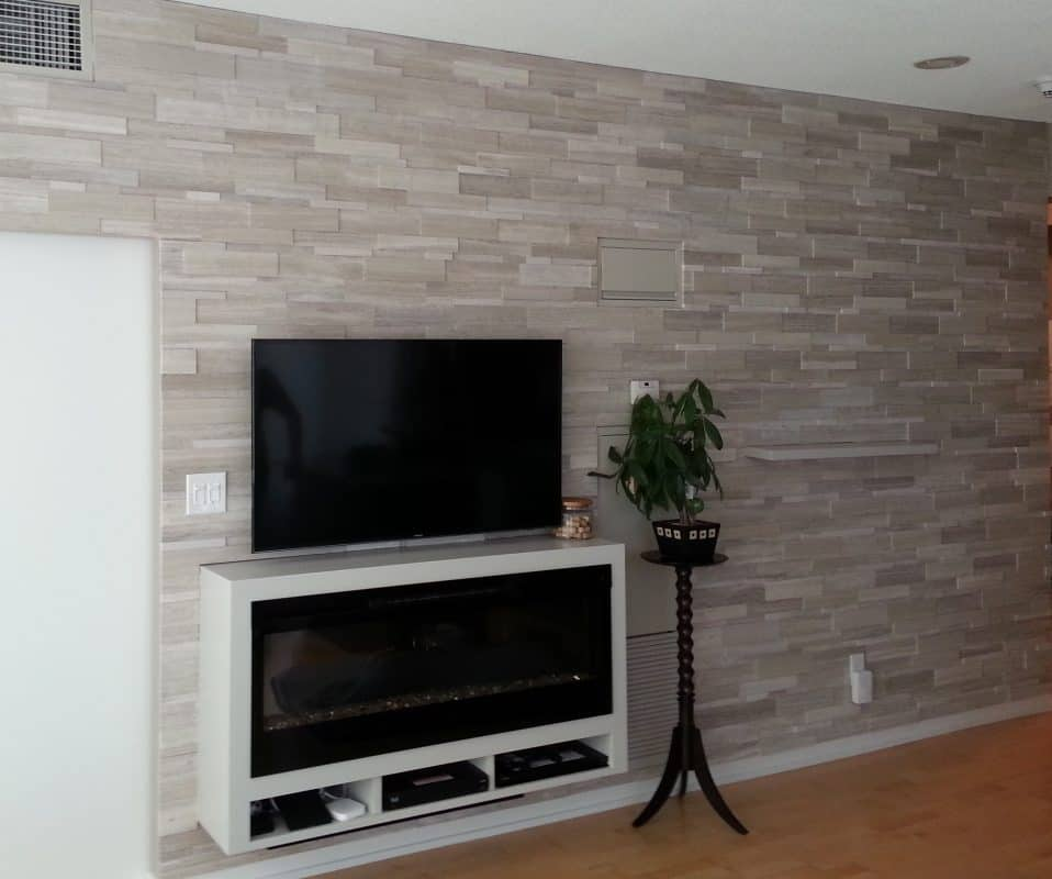 Electric Fireplace Design Services Toronto Stylish