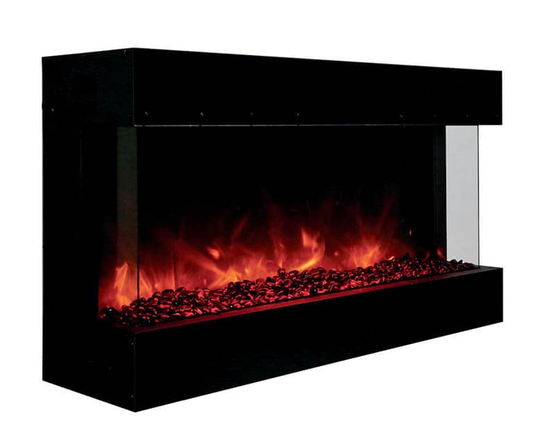 Amantii 40 Tru View Xl Indoor Outdoor 3 Sided Fireplace