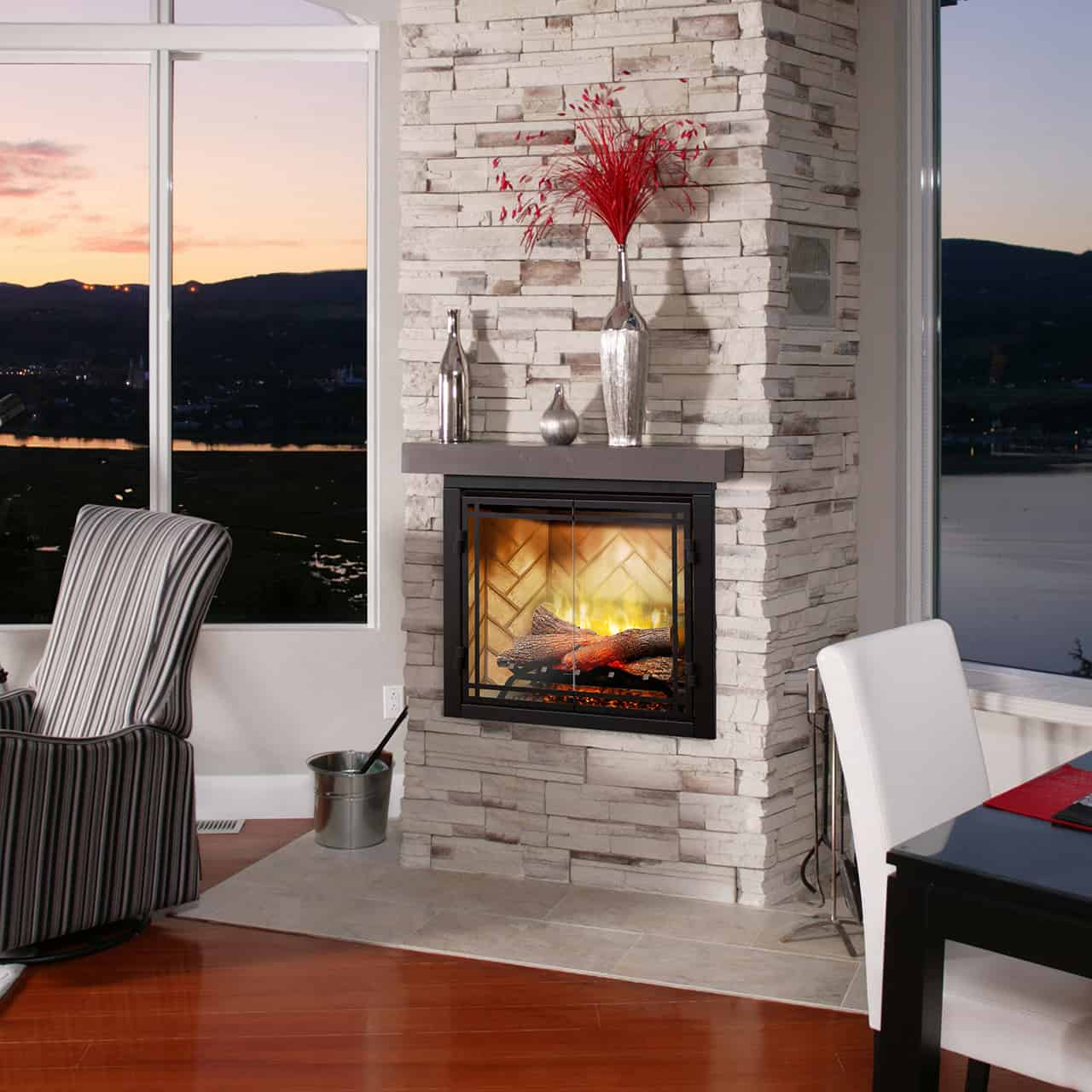 What Is The Best Electric Fireplace Insert Stylish Fireplaces