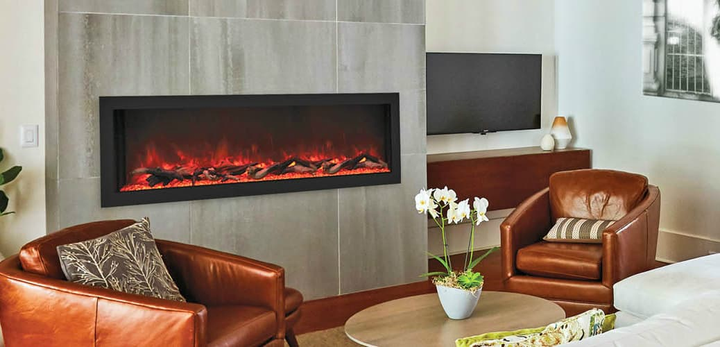 Remii Extra Deep Electric Fireplaces