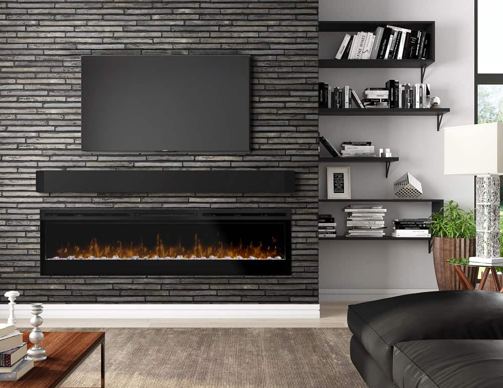 Wondrous For A Tv Friendly Fireplace Go Electric Stylish Fireplaces Home Interior And Landscaping Ponolsignezvosmurscom