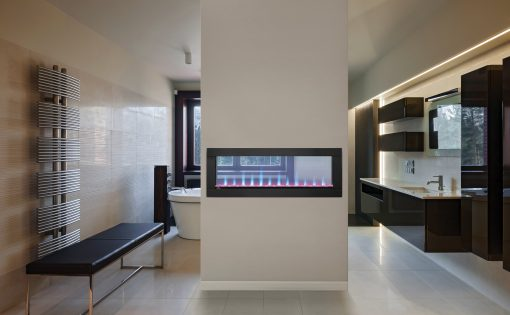 modern electric fireplace pictures