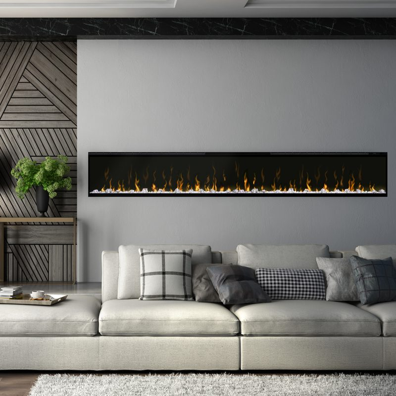 Images of modern Dimplex fireplace