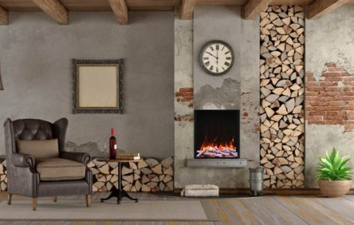 Electric fireplaces in Canada