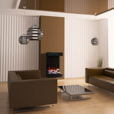 Amantii 2939-Tru-View-XL 3-sided fireplace