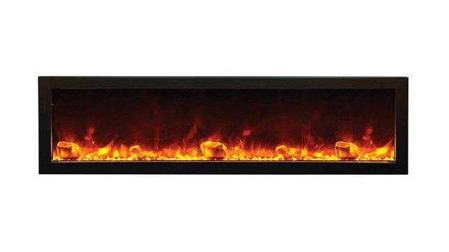 Amantii BI-60-SLIM electric fireplace