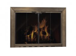 Design Specialties Fine LIne Savannah Select aluminum fireplace doors