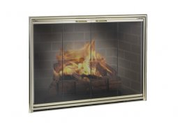 Design specialties Fine Line Silhouette fireplace doors