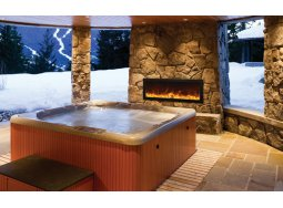 Amantii BI-40-SLIM panoramic fireplace