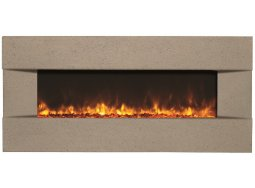 Amantii BLT-IN-5124-CLASSICO-VENETIANGREY electric fireplace