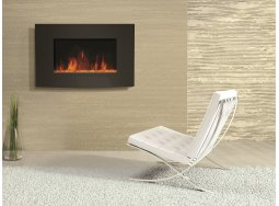 Dynasty EF67-CP curved electric fireplace