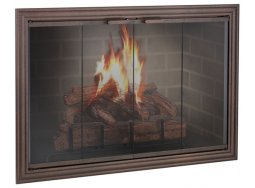 Design Specialties Fine Line Madison fireplace doors