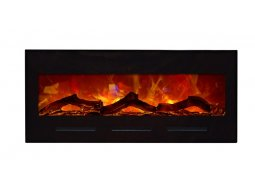 Amantii BI-50-FLUSHMT-BLKGLS electric fireplace